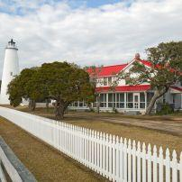 Lighthouse, Ocracoke Island, Outer Banks, North Carolina