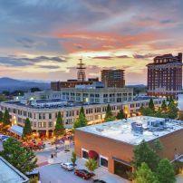 Grove Arcade, Asheville, North Carolina, USA