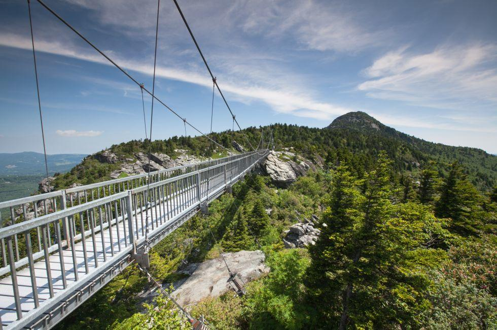 Bridge, Grandfather Mountain, Linville, North Carolina
