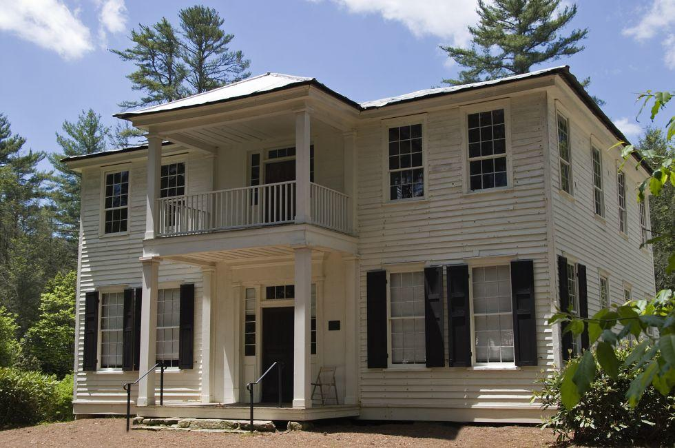 The Zachary-Tolbert House, Cashiers, North Carolina