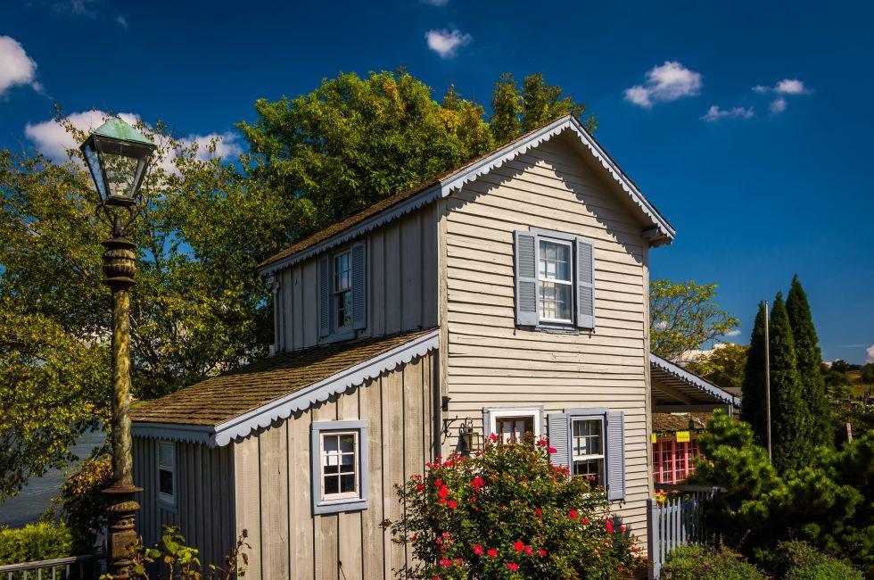 House, Chesapeake City, Maryland
