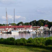 Yachts, Boats, Harbor, St. Michaels, Chesapeake Bay, Maryland