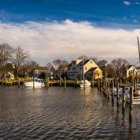 Boats, Harbor, Oxford, Maryland