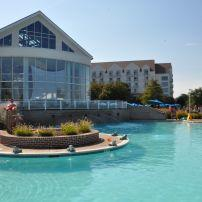 Swimming Pool, Hyatt Regency, Chesapeake Bay Resort, Cambridge, Maryland