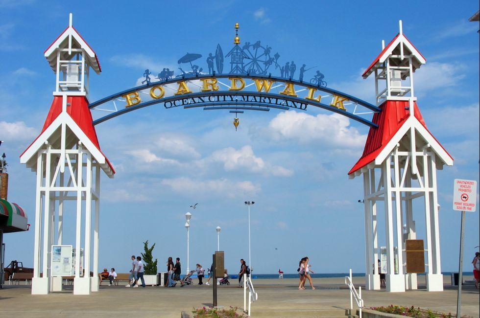 Boardwalk, Ocean City, Maryland