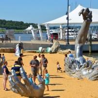 The Awakening, National Harbor, Oxon Hill, Maryland, USA