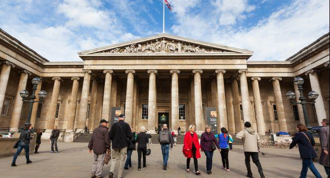 British Museum, Bloomsbury, London, England, Europe