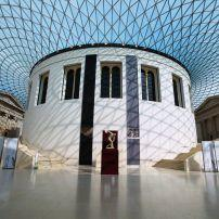 Inner Courtyard, British Museum, Bloomsbury, London, England, Europe