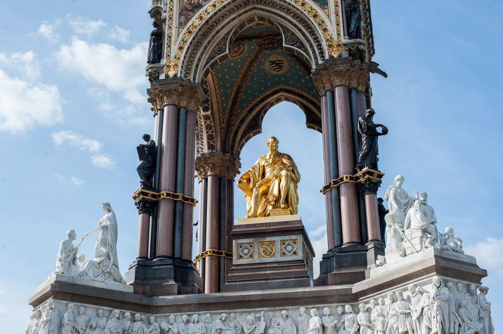 Albert Memorial, Kensington, London, England