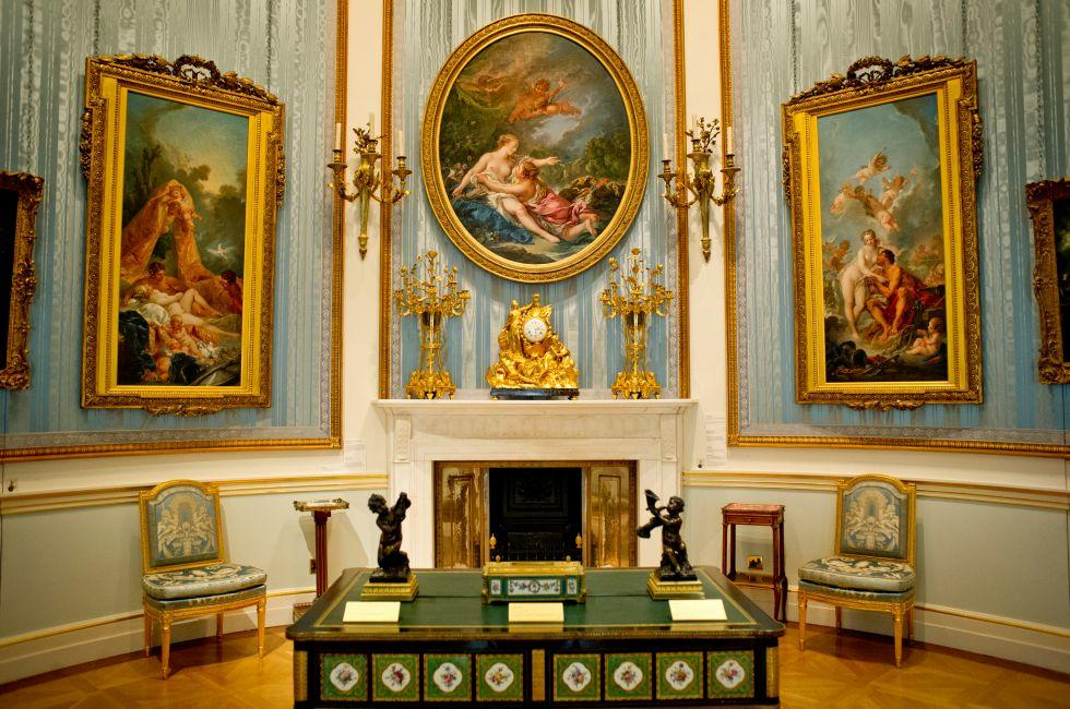 Gallery, Wallace Collection, Marylebone, London, England.