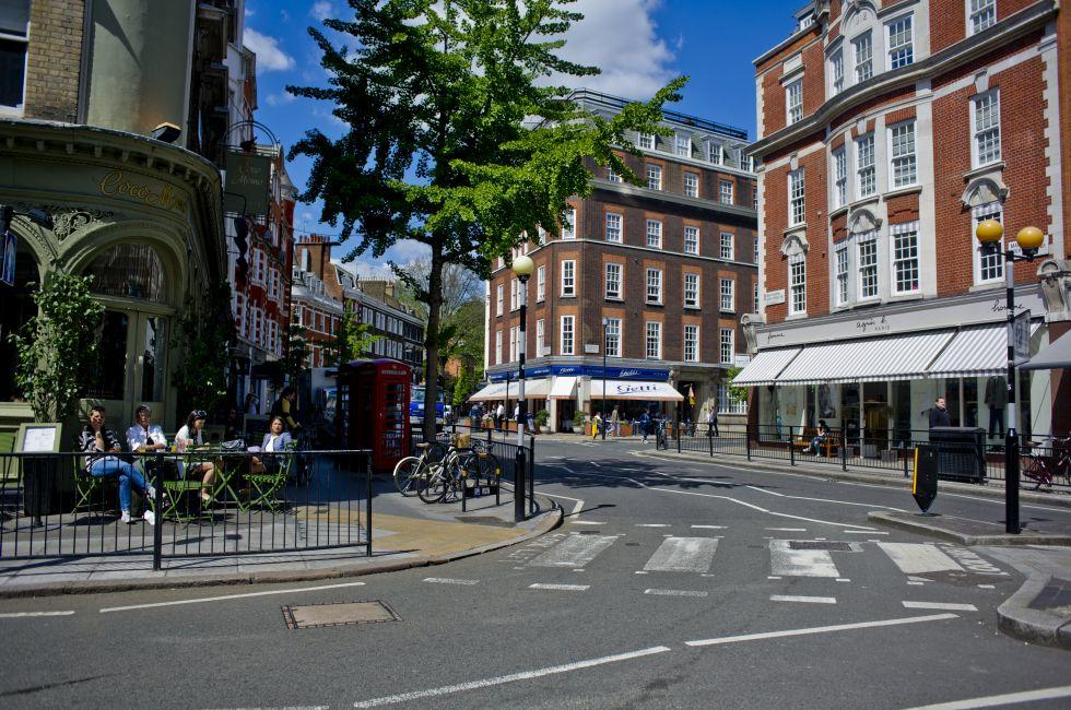 High Street, Marylebone, London, England