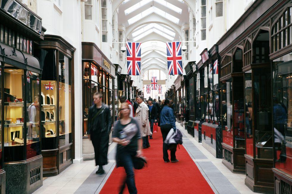 Burlington Arcade, Mayfair, London, England, Europe