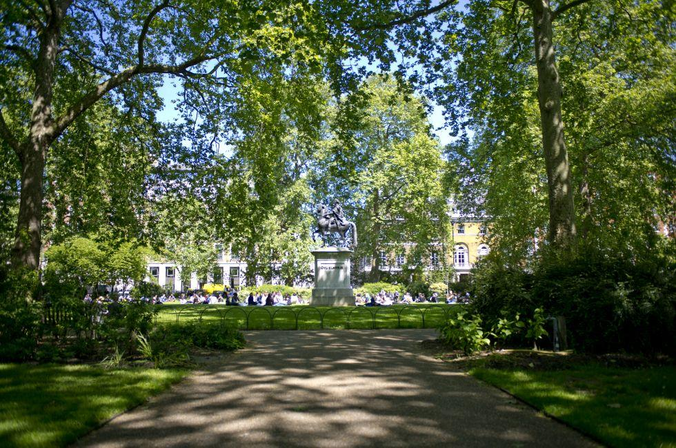 St. James Square, St. James, London, England