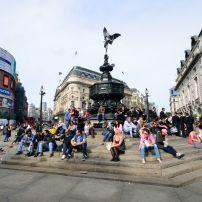 Picadilly Circus, London, England, Europe