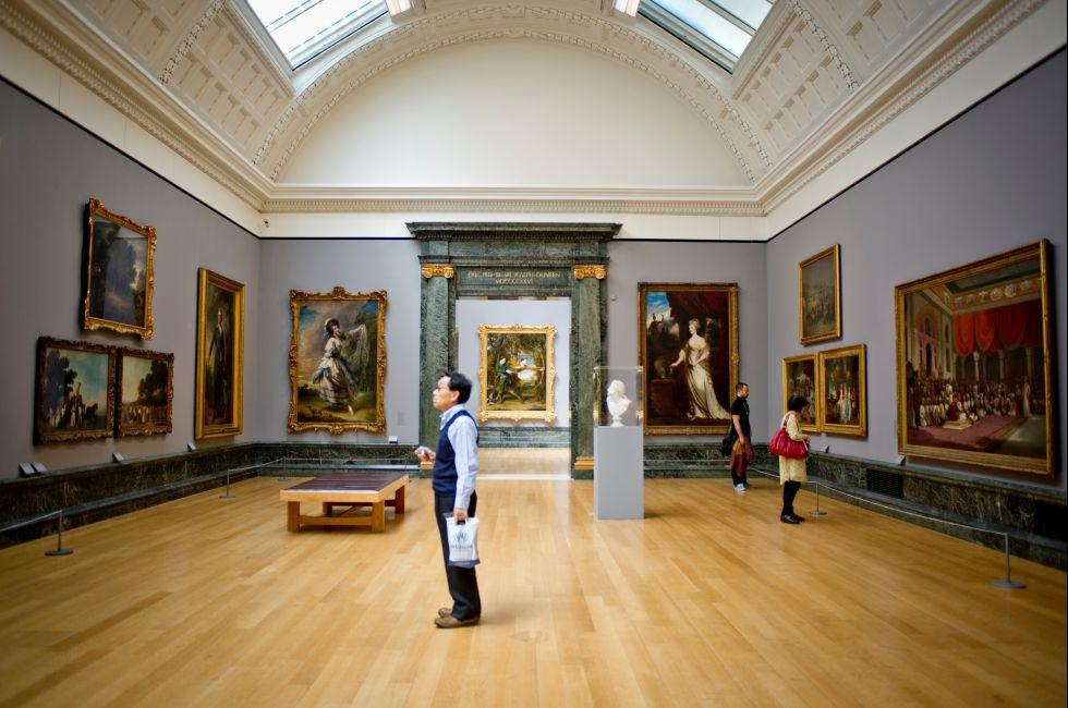 Gallery, Tate Britain, London, England