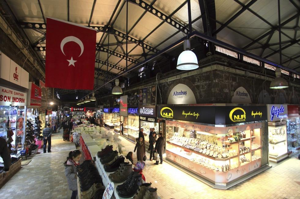 Shopping, Grand Bazaar, Bursa, Turkey