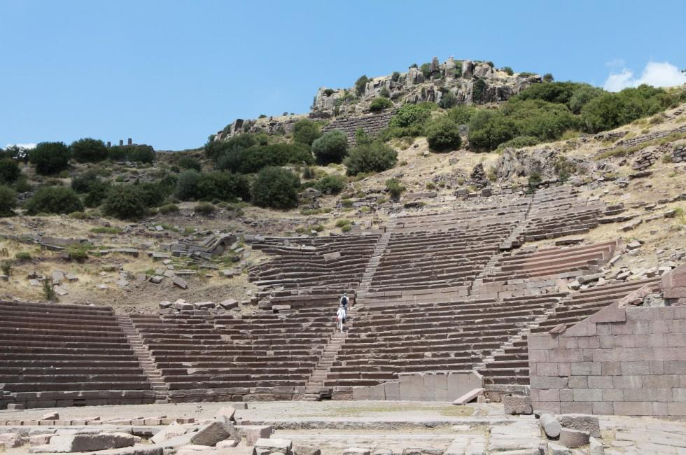 Theatre of Assos, Canakkale, Turkey