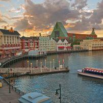 Disney's Boardwalk, Walt Disney World, Orlando, Florida, USA