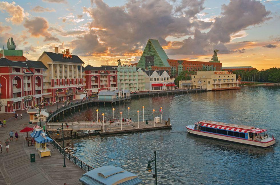Disney's Boardwalk, Walt Disney World, Orlando, Florida, USA