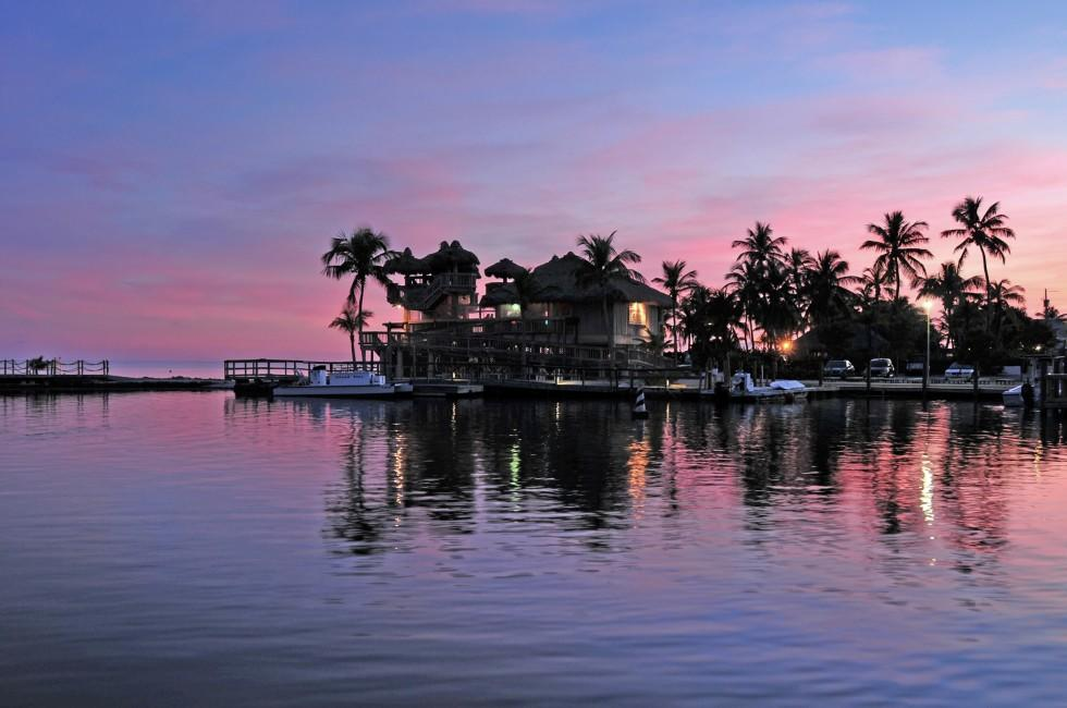 Sunset, Islamorada, The Florida Keys, Florida, USA