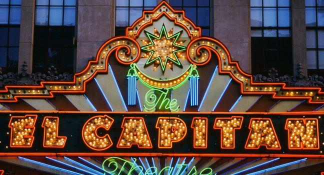 El Capitan Theatre, Hollywood and Vicinity, Hollywood, Los Angeles, California, USA.