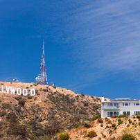 Hollywood Sign, Hollywood and Vicinity, Hollywood, Los Angeles, California, USA.