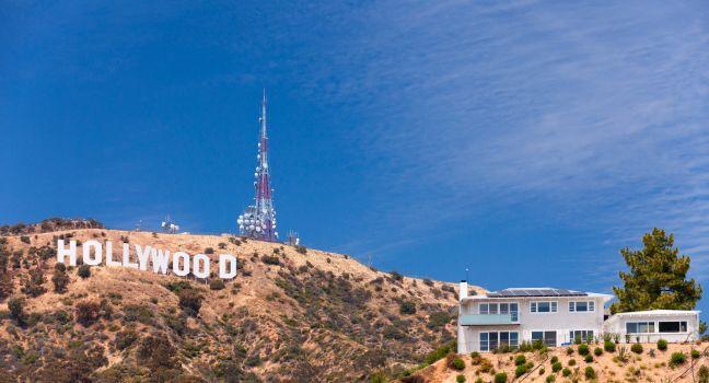 Hollywood Sign, Hollywood and Vicinity, Hollywood, Los Angeles, California, USA.