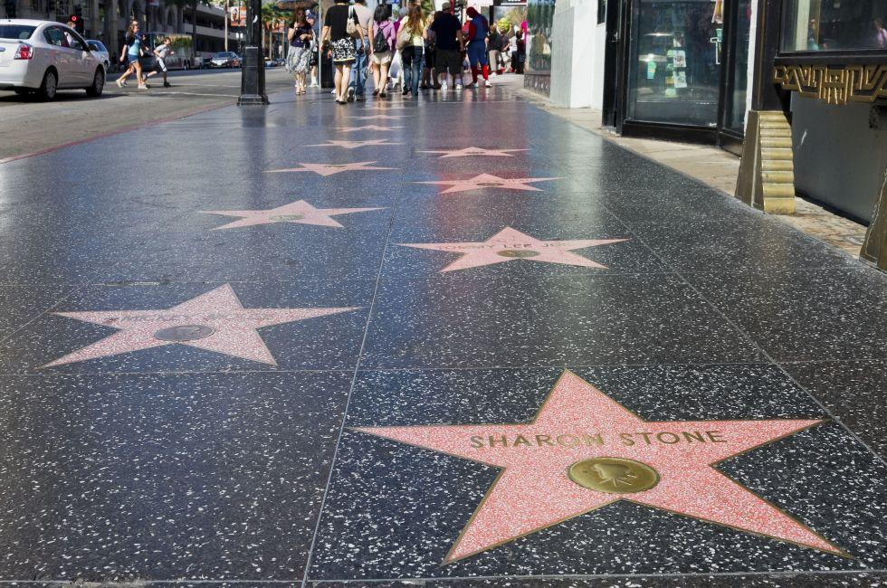 Hollywood Walk of Fame, Hollywood and Vicinity, Hollywood, Los Angeles, California, USA.
