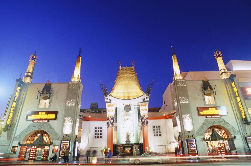 TCL Chinese Theater, Hollywood and Vicinity, Hollywood, Los Angeles, California, USA.