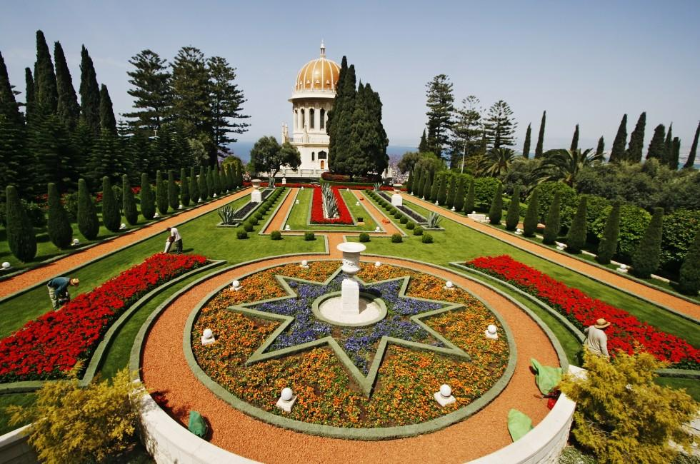 Baha'i Gardens, Haifa and the Northern Coast, Haifa, Israel