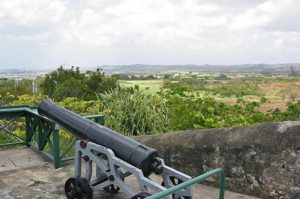 Cannon, Overlook, Gun Hill Signal Station, Barbados