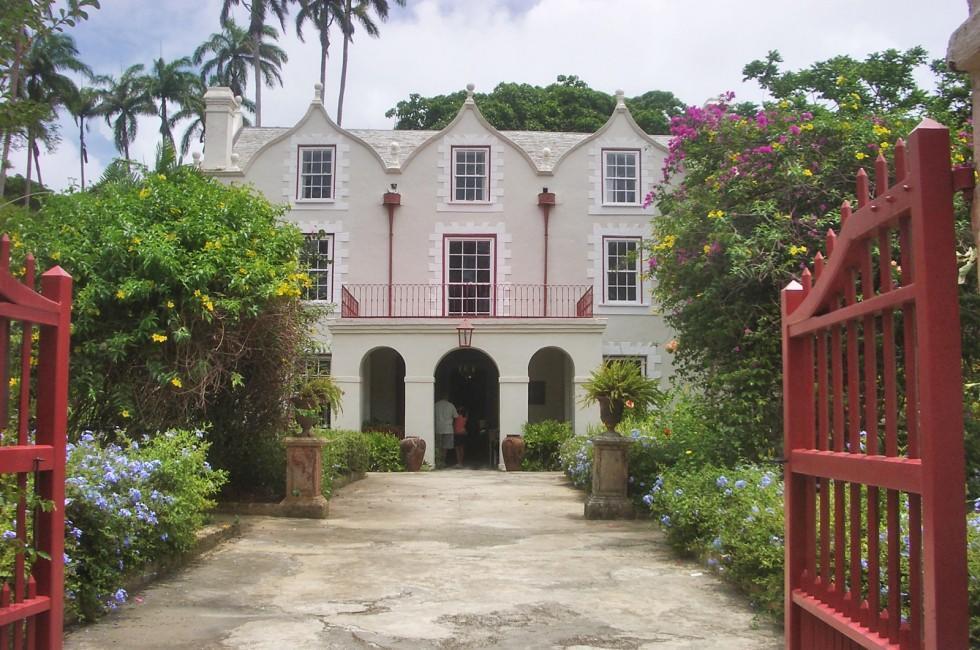 Facade, Architecture, St. Nicholas' Abbey, Barbados