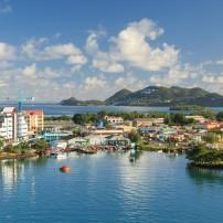 Castries and the North, St. Lucia, Caribbean
