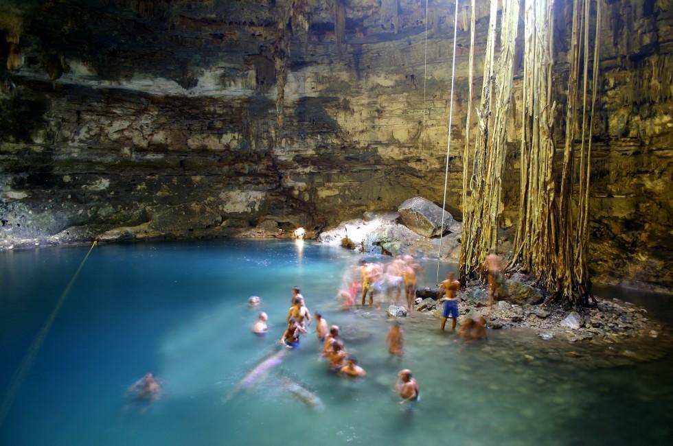 Limestone Cave, Yucatan, Mexico