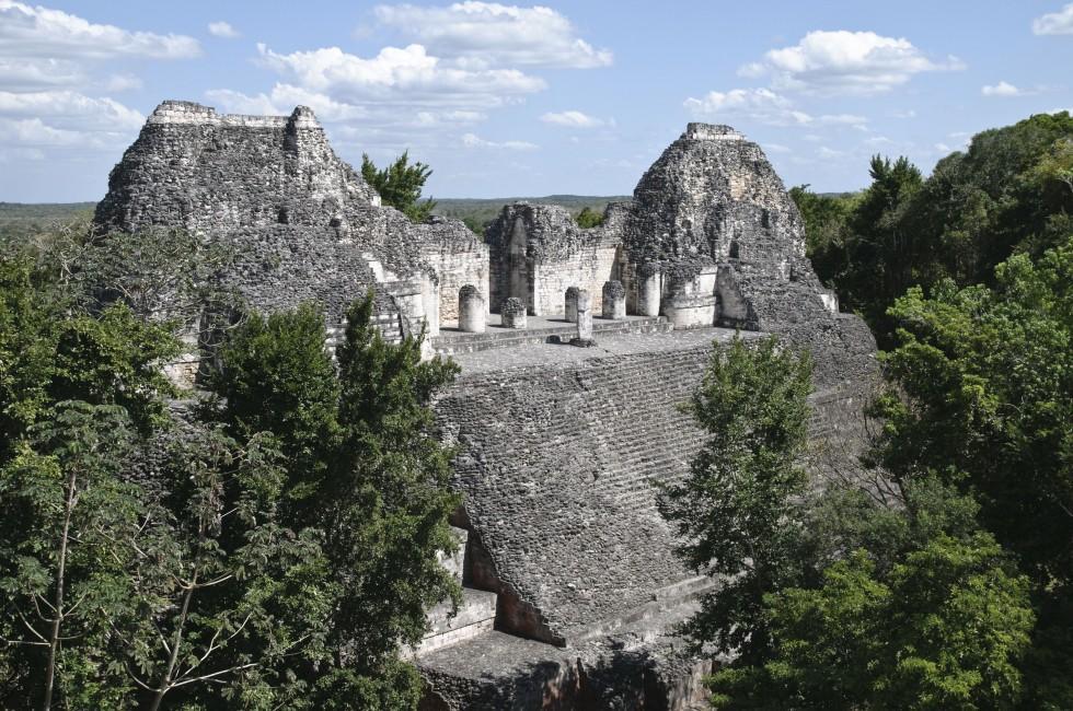 Mayan Ruins, Becan, Mexico