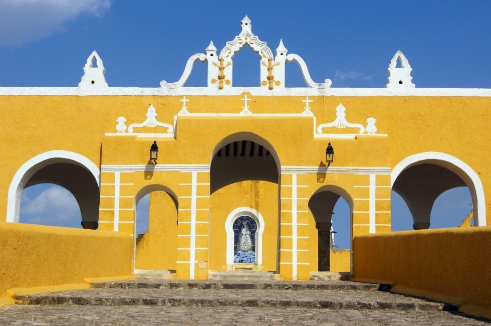 Monastery, Izamal, Mexico.
