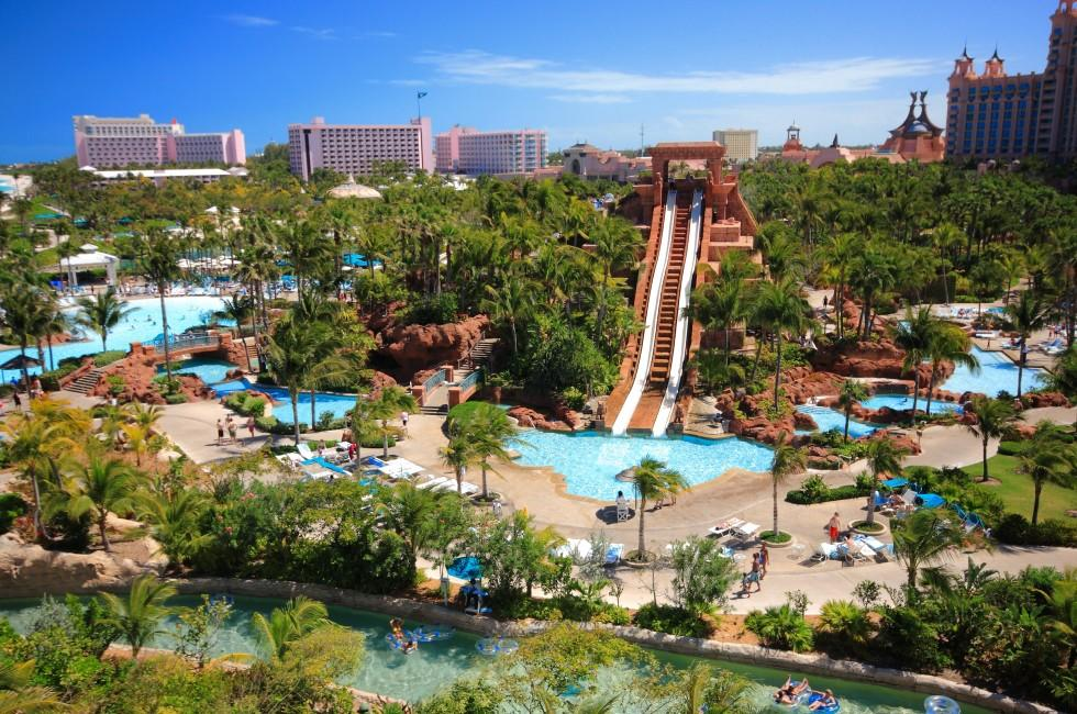 Atlantis Hotel, Paradise Island, Nassau, New Providence and Paradise Islands, Bahamas, Caribbean