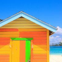 Colorful Hut, Nassau, The Bahamas, Caribbean