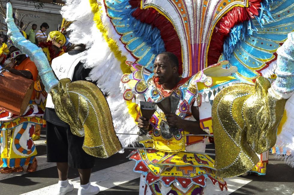 Dancer, Jankanoo Festival, Nassau, Bahamas, Caribbean