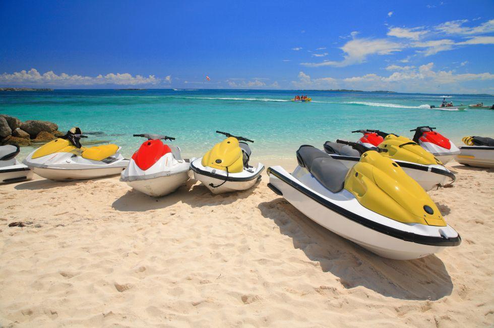 Jet ski, Beach, Paradise Island, The Bahamas, Caribbean