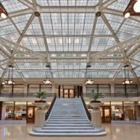 Main Lobby, The Rookery, Chicago, Illinois, USA