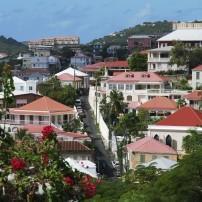 Cityscape, Charlotte Amalie, St. Thomas, USVI, Caribbean
