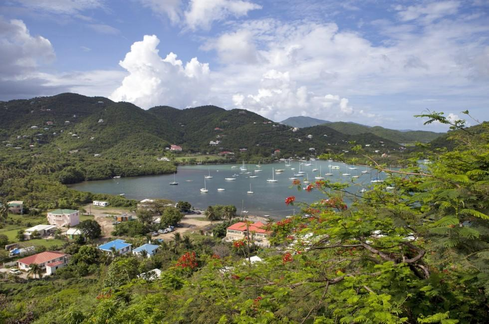 Boats, Marina, Overlook, Coral Bay, Coral Bay and Environs, St. John, USVI