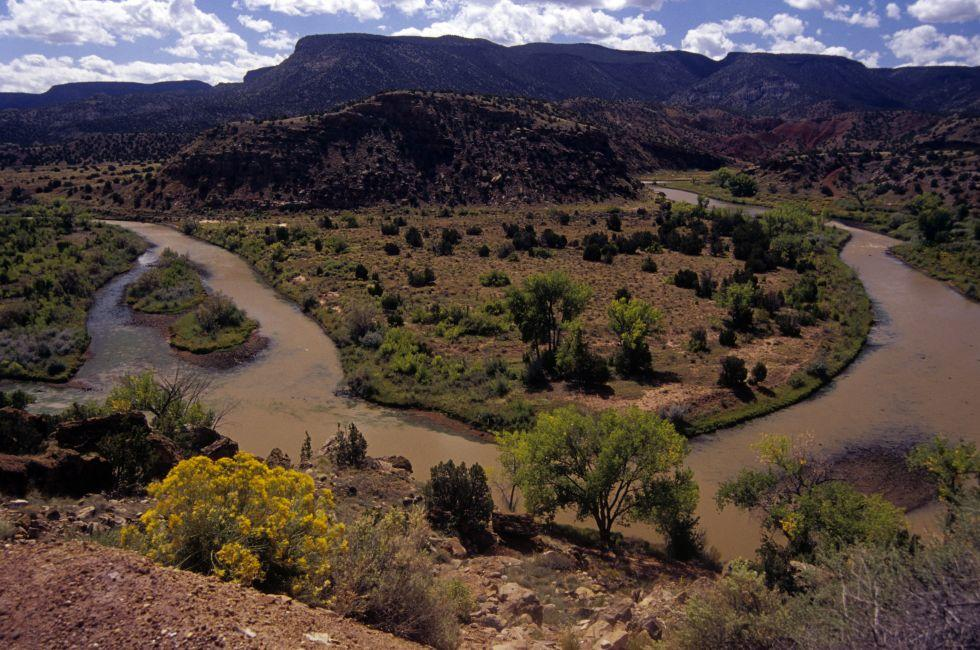 Chama River near Ghost Ranch, Abiquiu, New Mexico