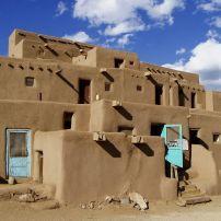 Adobe's, Side Trips from Santa Fe, Santa Fe, New Mexico, USA