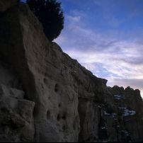 kokopelli's cave, near farmington, new mexico