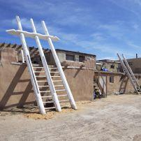 Adobe Houses, Acoma Pueblo, Sky City, New Mexico