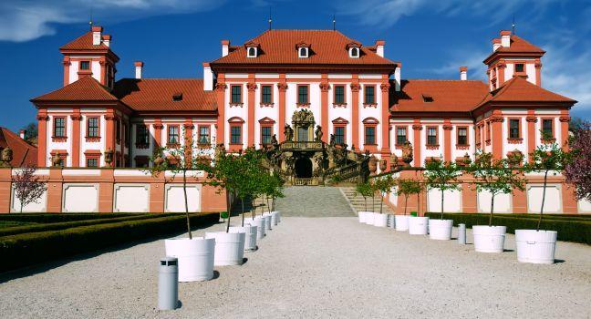 Trojský zámek (Troja Chateau), Letna, Holesovice, and Troja, Prague, Czech Republic