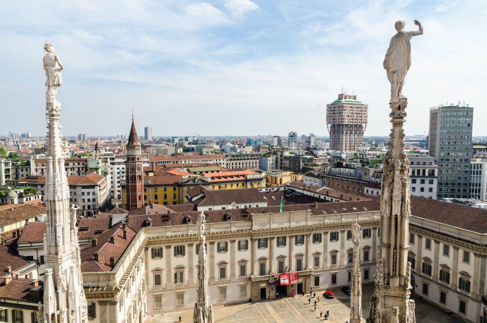 Duomo di Milano, Milan, Milan, Lombardy, and the Lakes, Italy, Europe