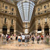 Galleria Vittorio Emanuele II, Duomo, Milan, Milan, Lombardy, and the Lakes, Italy, Europe.